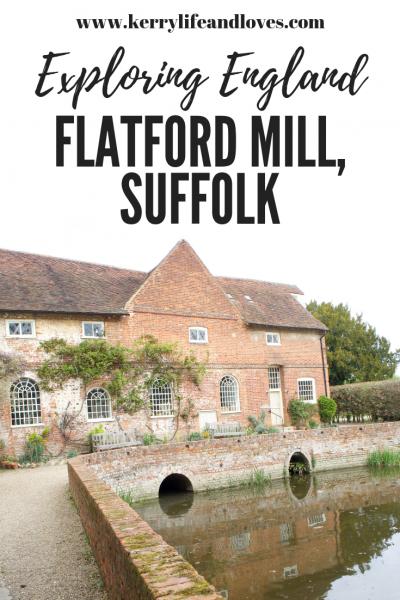 Exploring England Flatford Mill Suffolk
