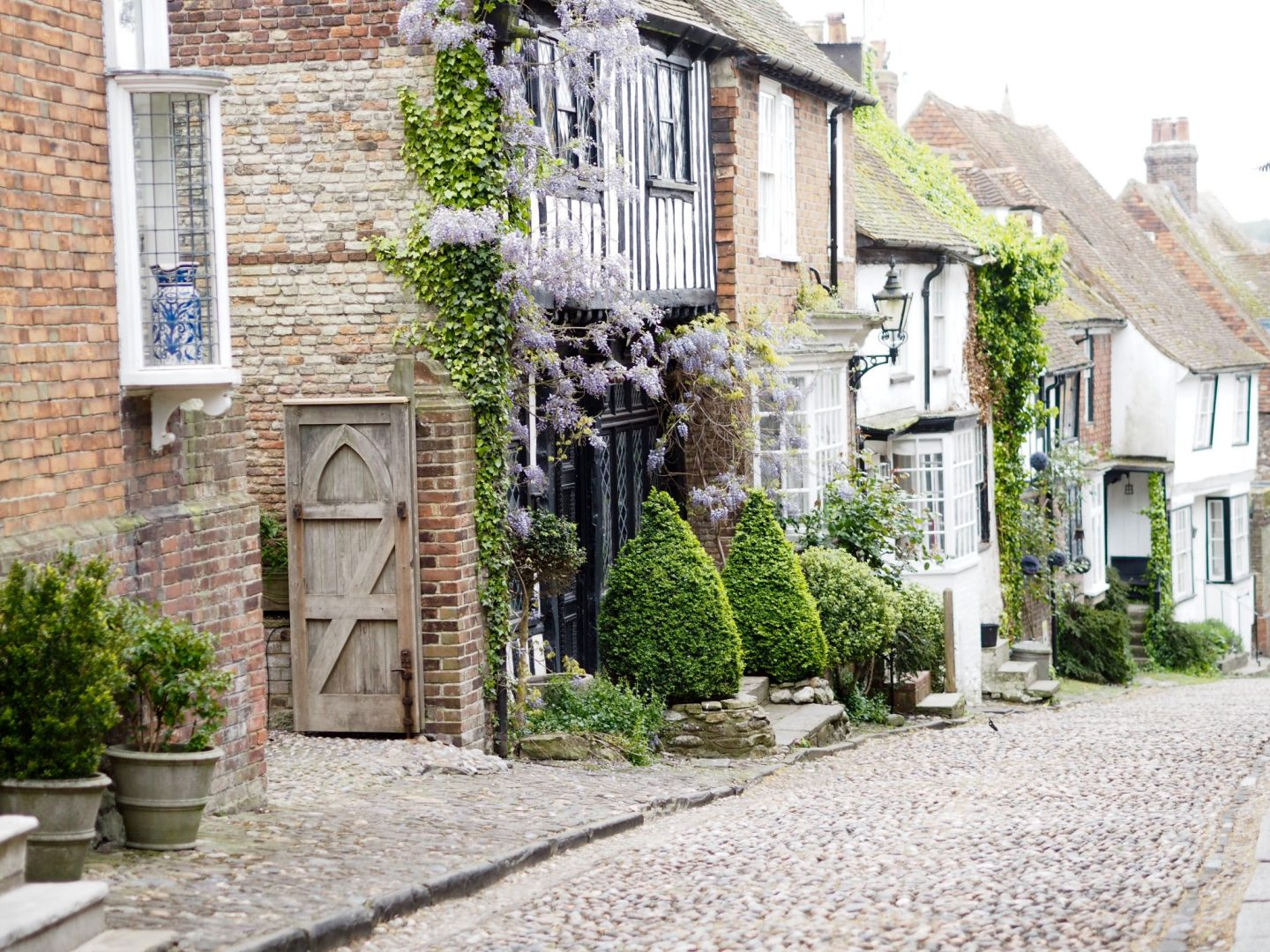 Mermaid Street in Rye East Sussex