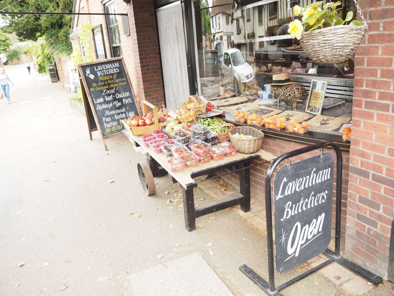 exploring Lavenham in Suffolk