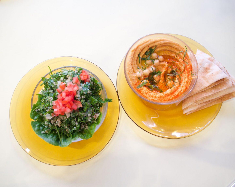 vegan menu launch at comptoir libanaise