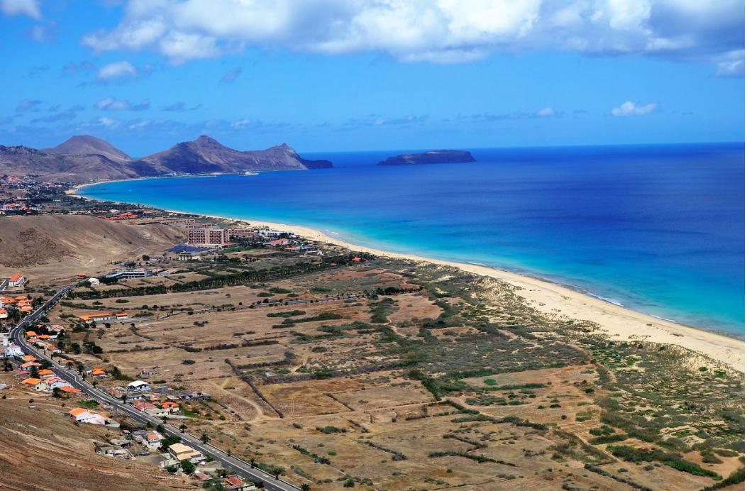 porto santo portugals paradise island