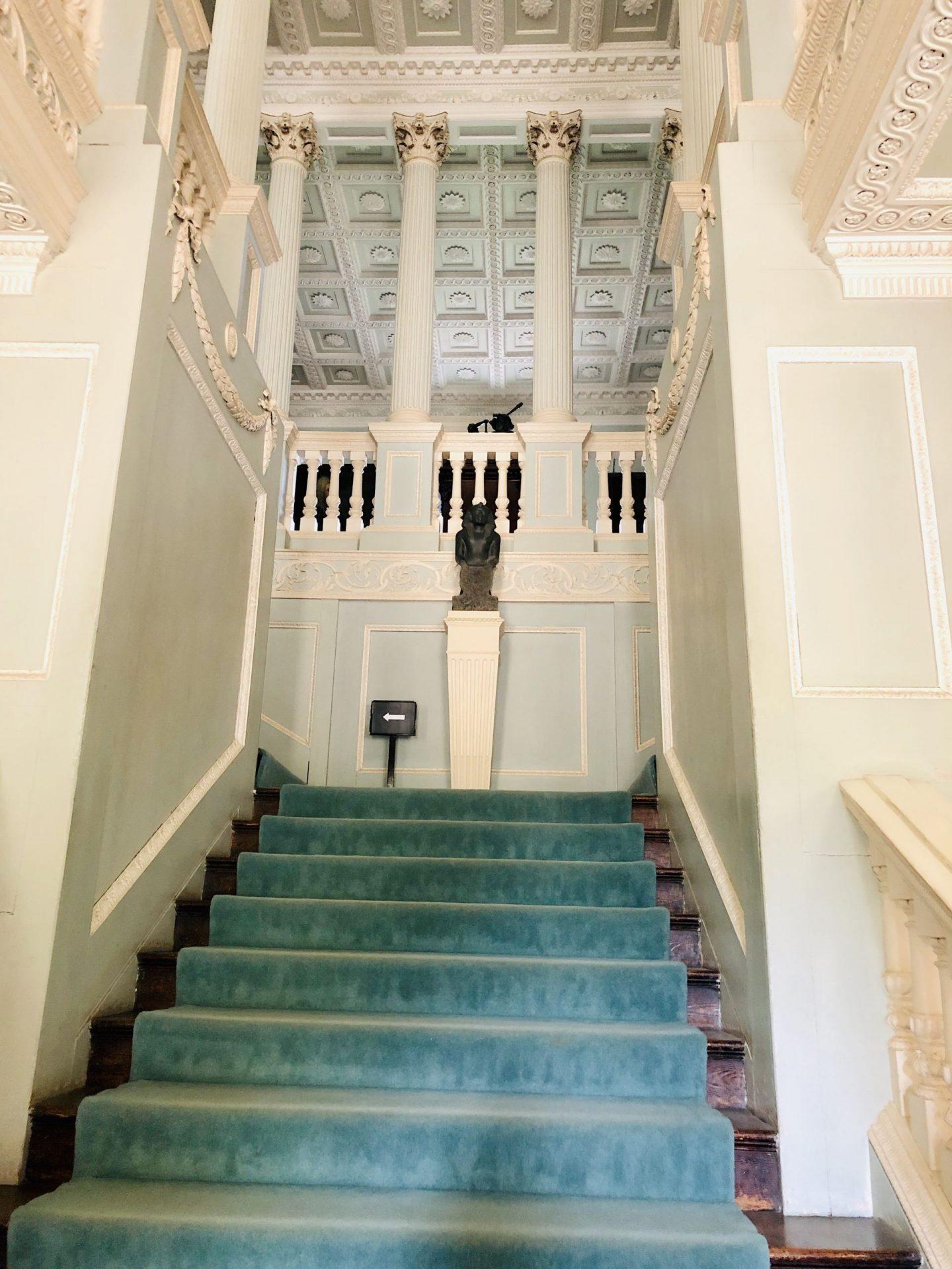 Entrance hall to The Vyne Basingstoke