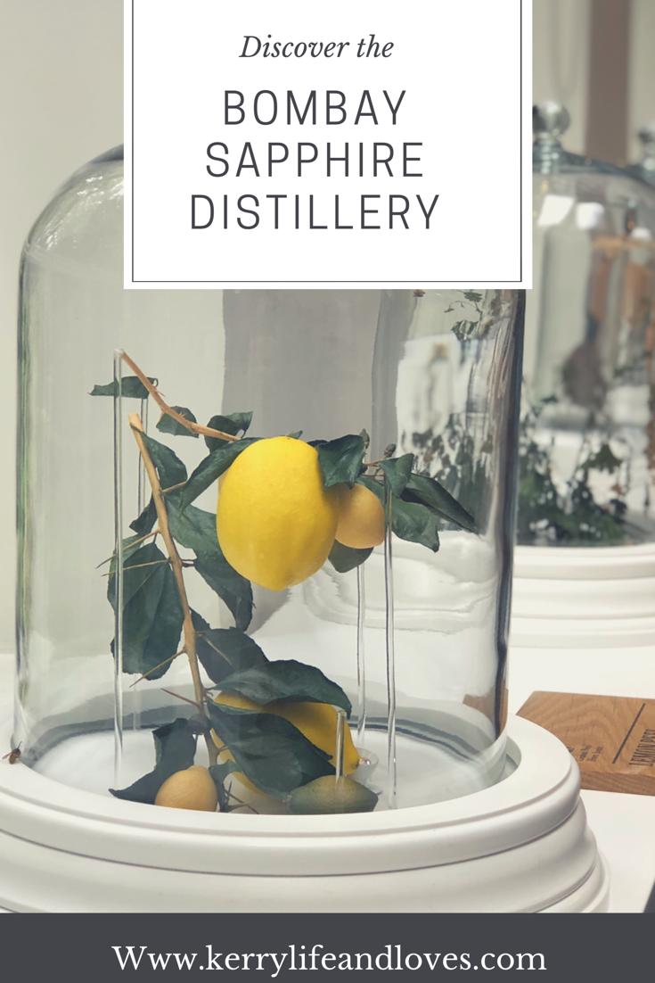 bombay sapphire gin distillery tour