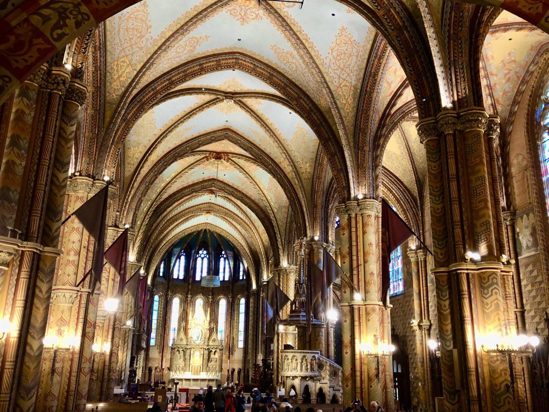 4 days in budapest Matthias Church
