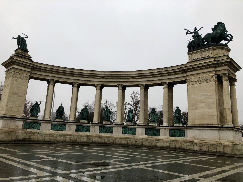 Heros Square in Budapest